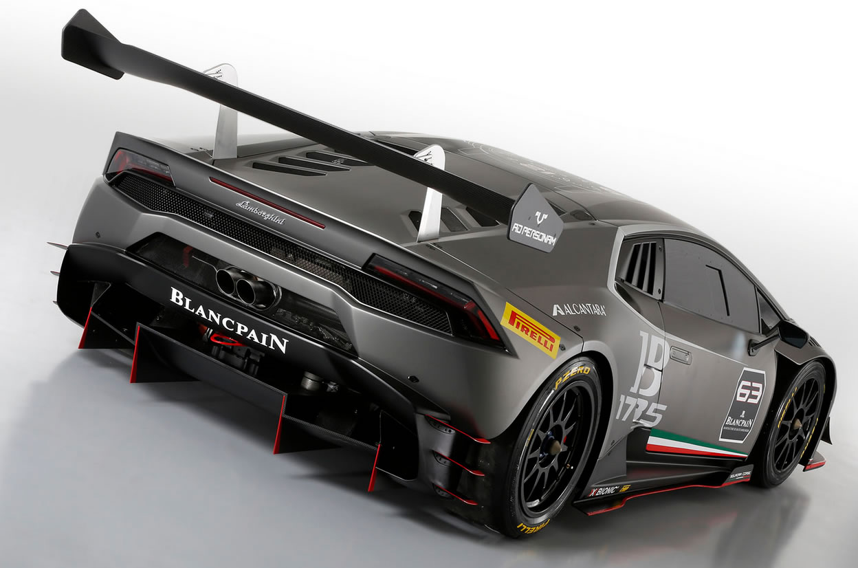 2014 Lamborghini Huracan LP 620-2 Super Trofeo Race Car ...