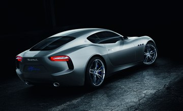 This centenary concept explores Maserati's stylistic heritage and hints at the brand's future design language.