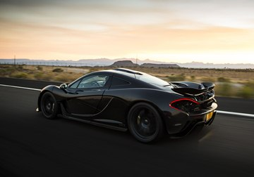 Production of the McLaren P1 will be limited to 375 examples.