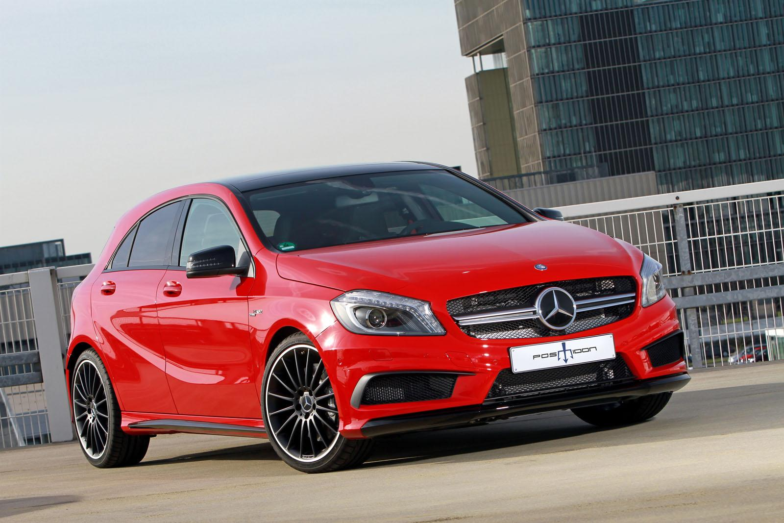 2014 mercedes benz a45 amg by posaidon front photo red for Mercedes benz a45 amg for sale