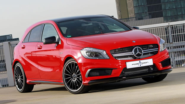2014 Mercedes-Benz A45 AMG by Posaidon
