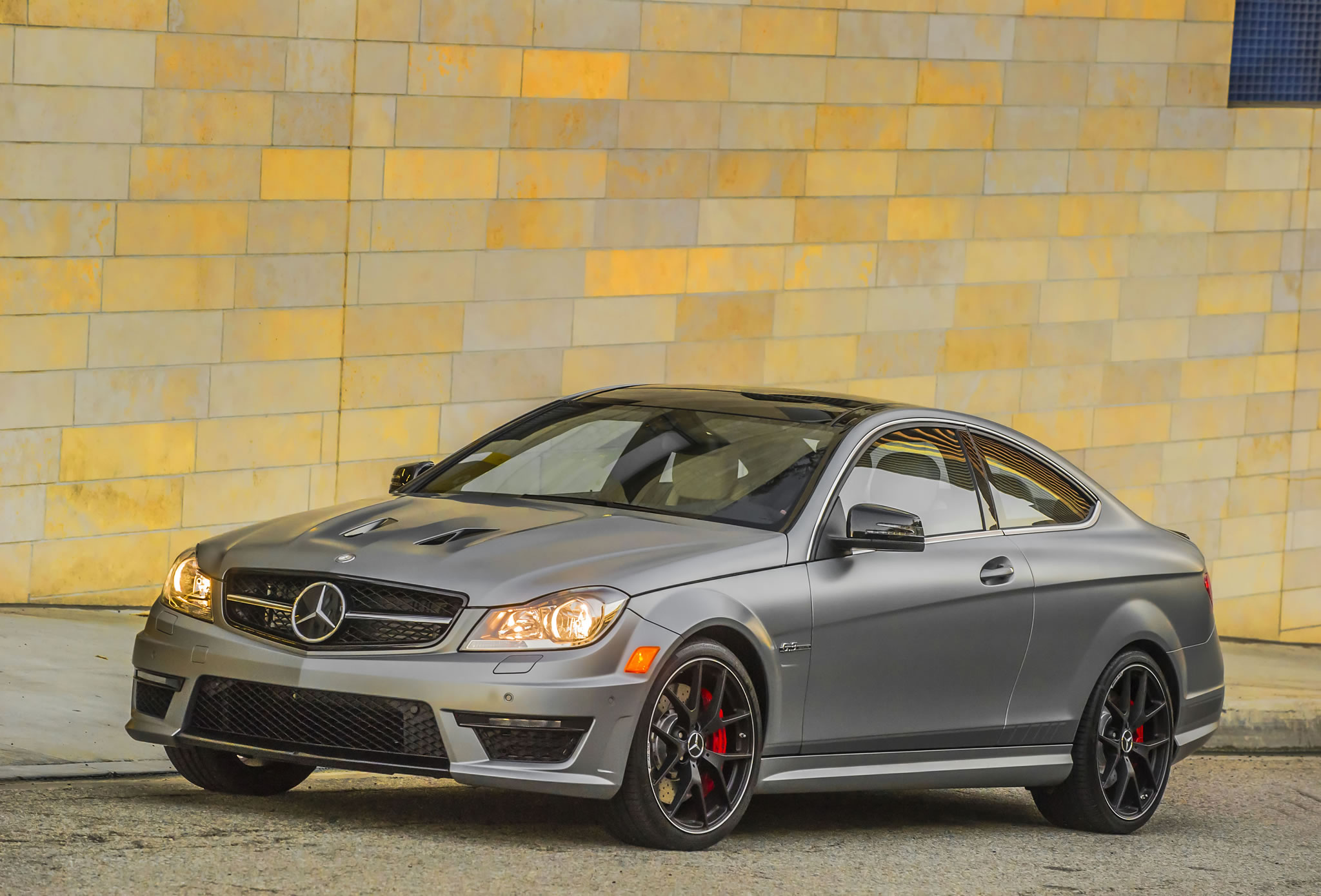 2014 mercedes benz c63 amg coupe edition 507 front photo for 2014 mercedes benz c63 amg edition 507