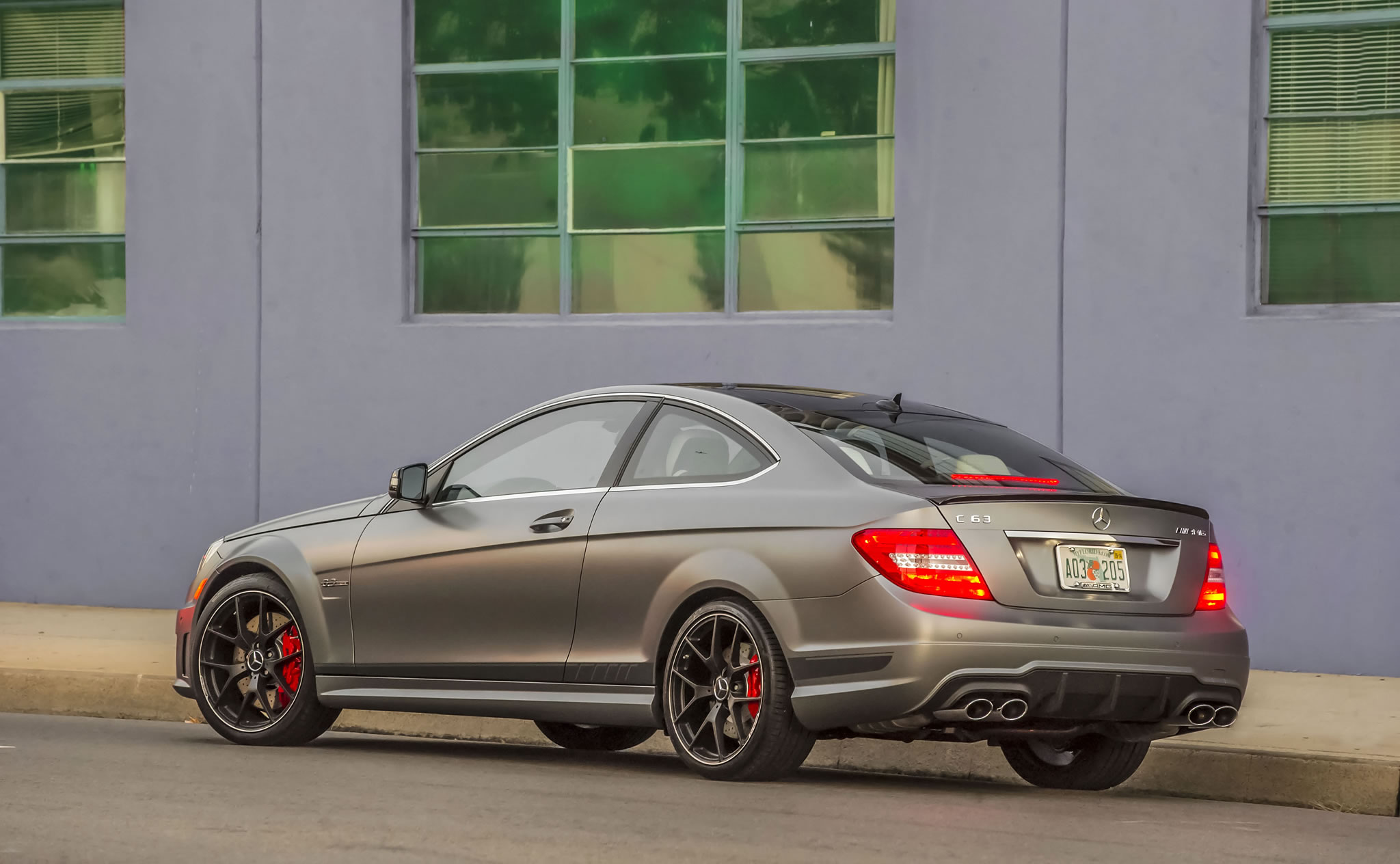 2014 mercedes benz c63 amg coupe edition 507 rear photo. Black Bedroom Furniture Sets. Home Design Ideas