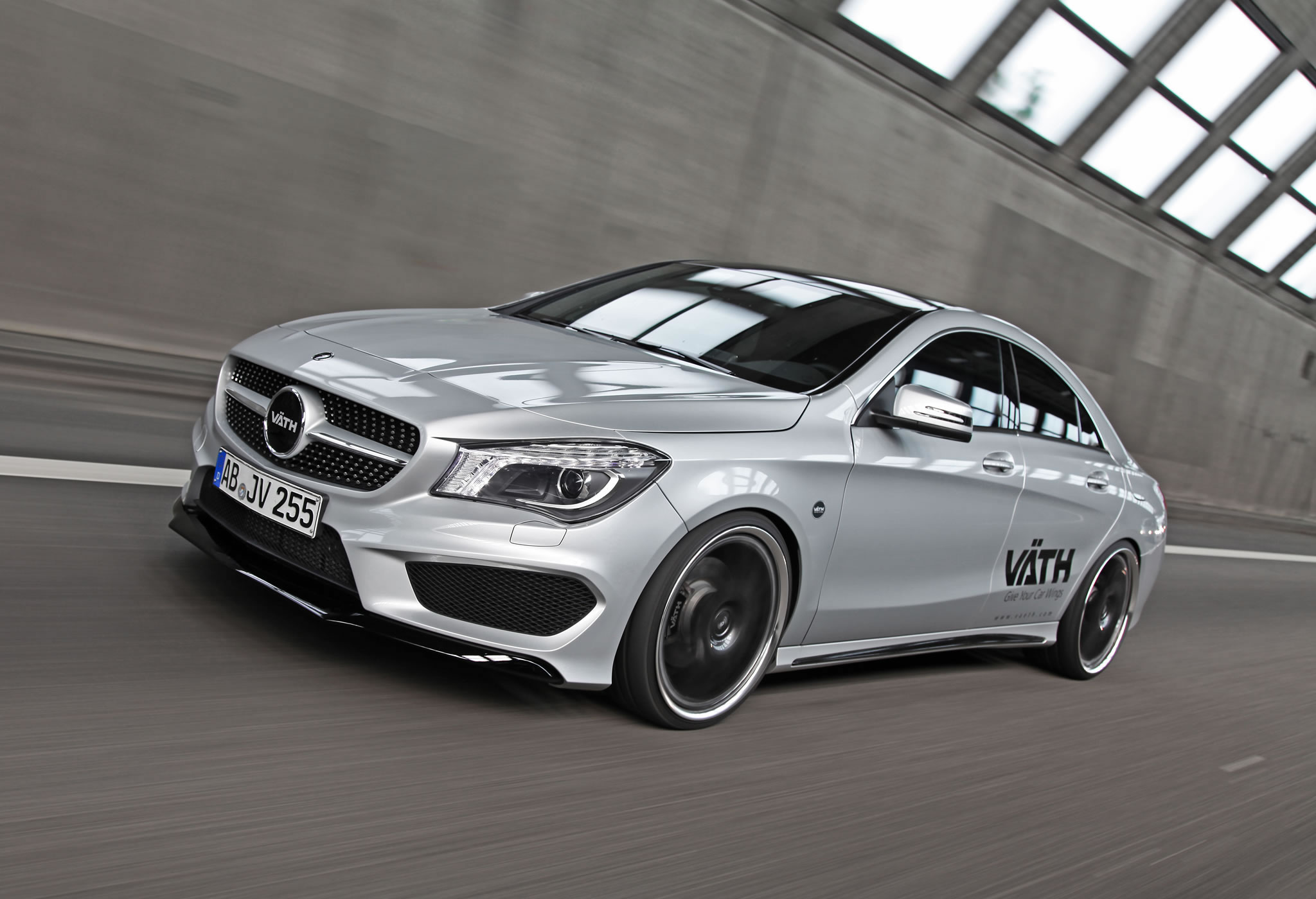 2014 mercedes benz cla250 by vaeth front photo polar