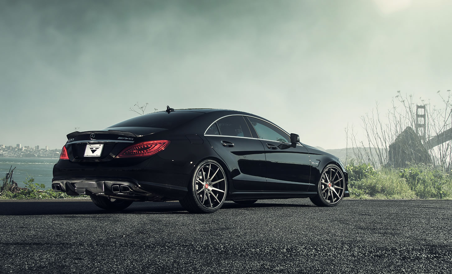 2014 mercedes benz cls63 amg by vorsteiner photos specs and. Black Bedroom Furniture Sets. Home Design Ideas
