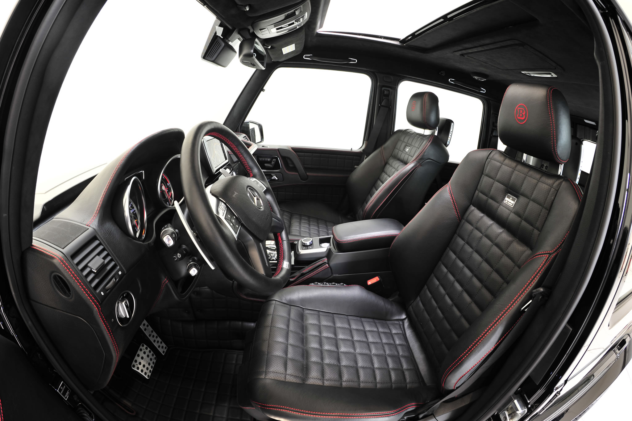2014 Mercedes Benz G65 Amg By Brabus Interior Photo