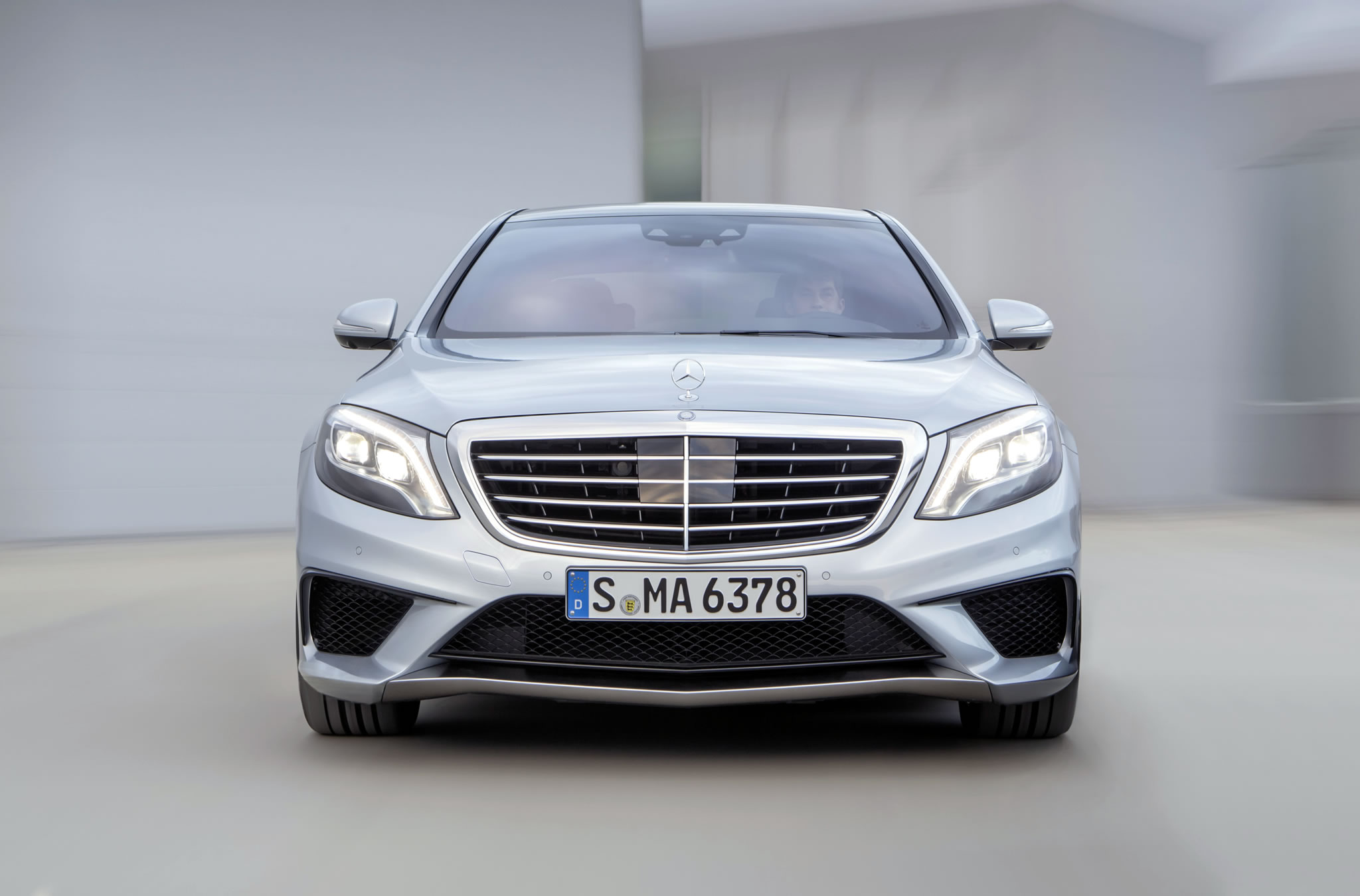 2014 mercedes benz s63 amg 4matic front photo lights for Mercedes benz s63 amg 2014