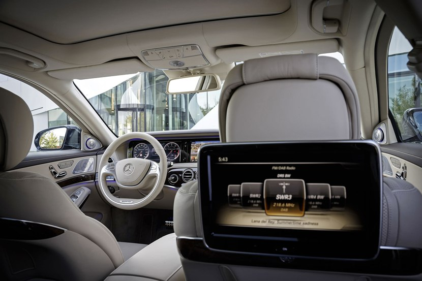 2014 Mercedes Benz S65 Amg Interior Photo Rear Seat
