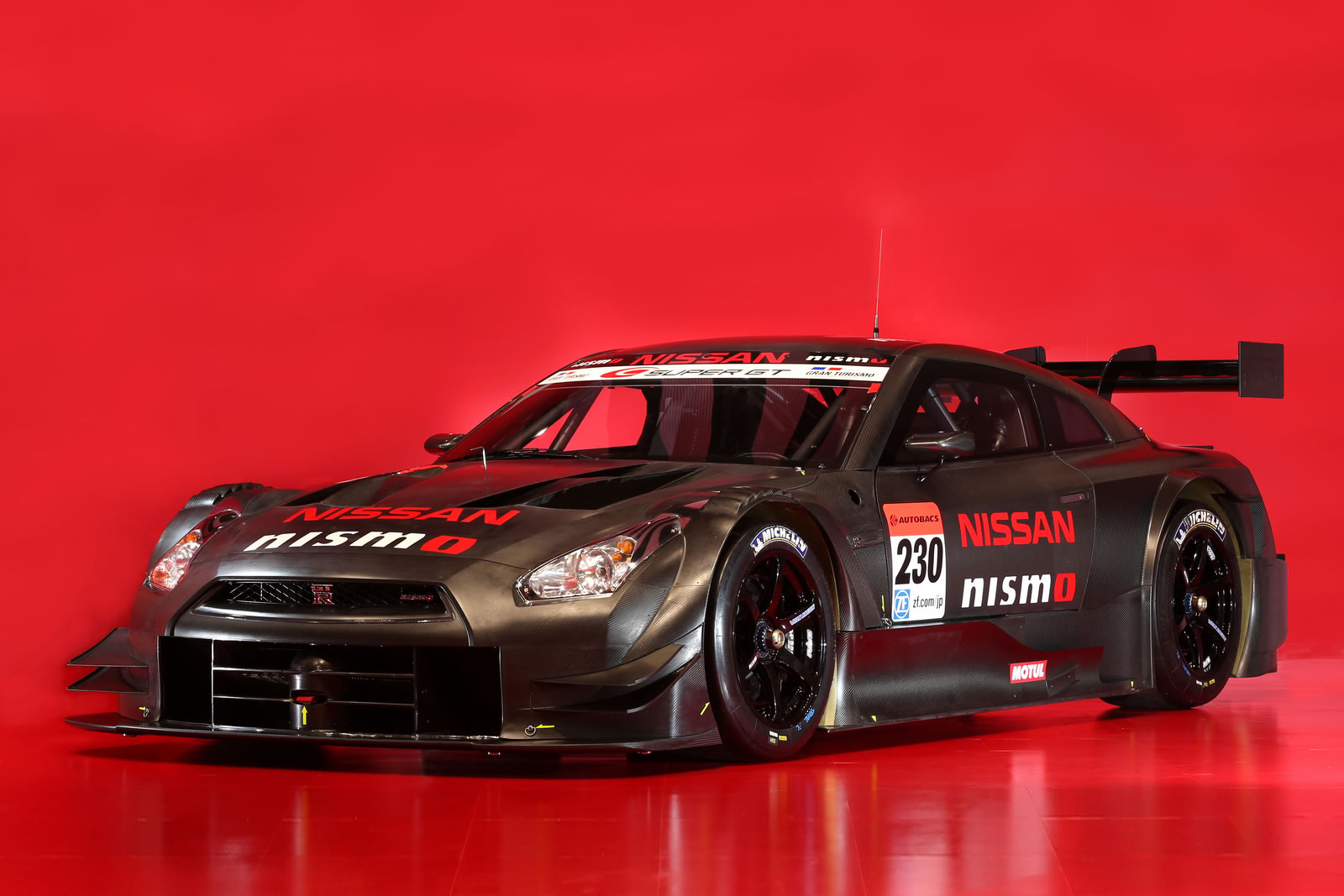2014 Nissan Gt R Nismo Gt500 Race Car Front Photo