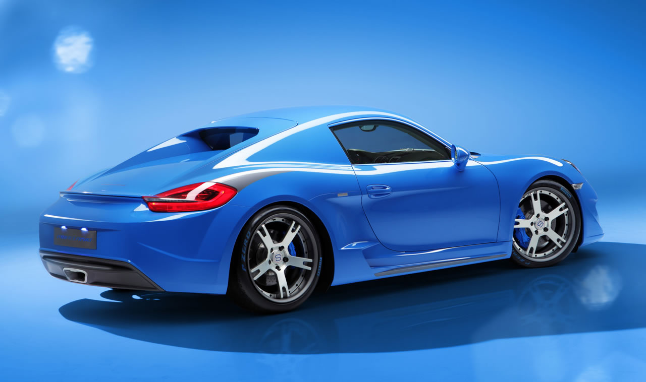 2014 Porsche Cayman S Moncenisio By Studiotorino Photos