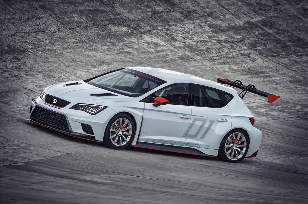Photo Gallery 2017 Seat Leon Cup Race Car
