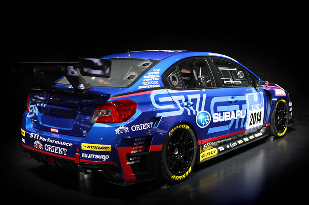 2014 Subaru WRX STI NBR Challenge Race Car Photos, Specs and Review - RS
