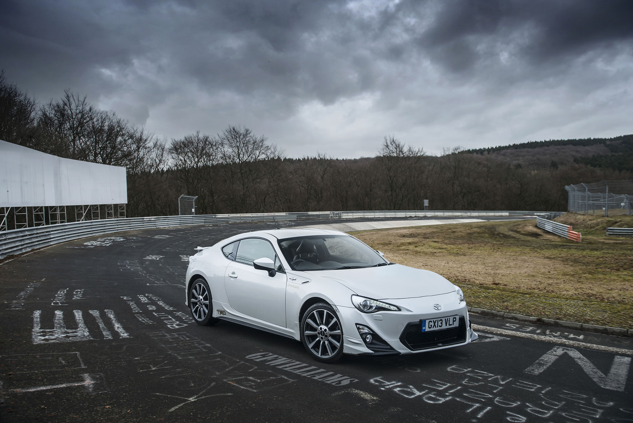 2014 toyota gt86 trd front photo pearl white color