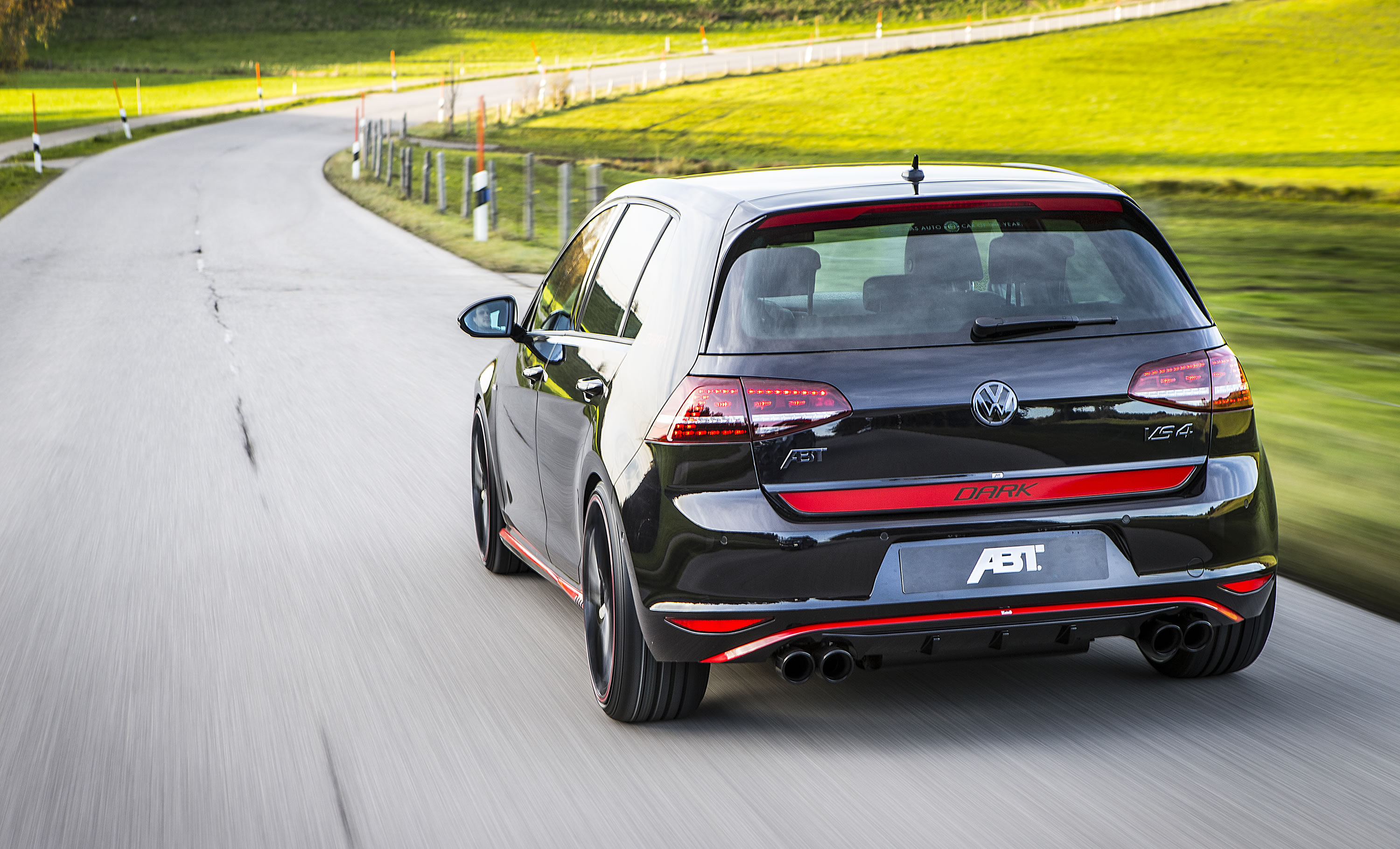 2014 volkswagen golf gti dark edition by abt photos specs and review rs. Black Bedroom Furniture Sets. Home Design Ideas