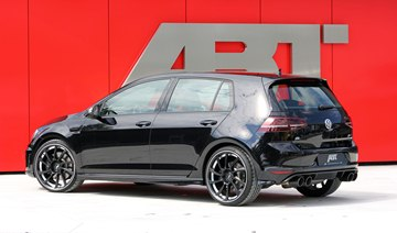 ABT also lends its Golf VII a more aggressive look.