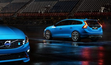 The V60 Polestar has been developed alongside the S60 Polestar.