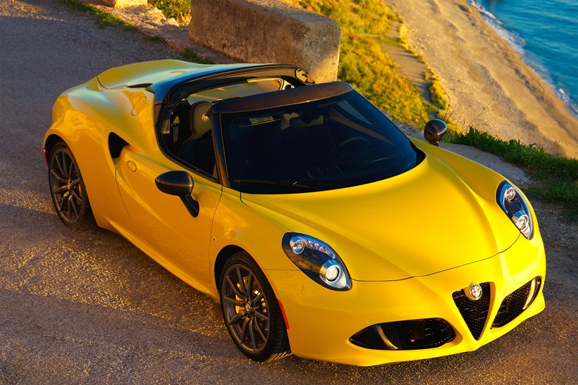 2015 alfa romeo 4c spider front photo giallo paint size 2048 x 1366 nr 1 80. Black Bedroom Furniture Sets. Home Design Ideas