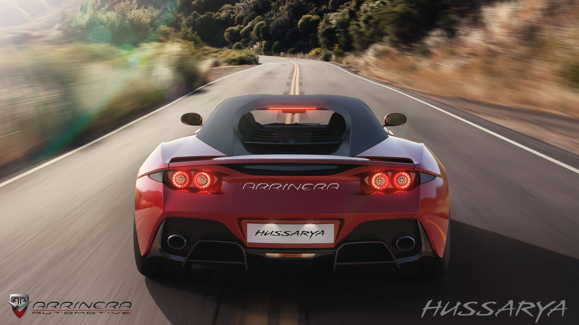 2015 Arrinera Hussarya Rear Photo Red Color Taillights