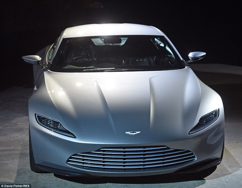 2015 Aston Martin Db10 Front Photo Special Edition Spectre
