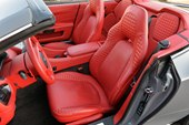 interior, seats, red leather