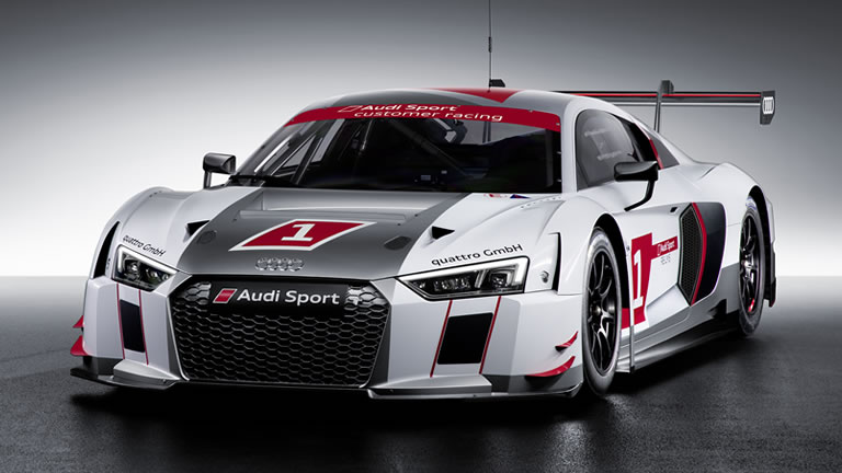 2015 Audi R8 LMS Race Car