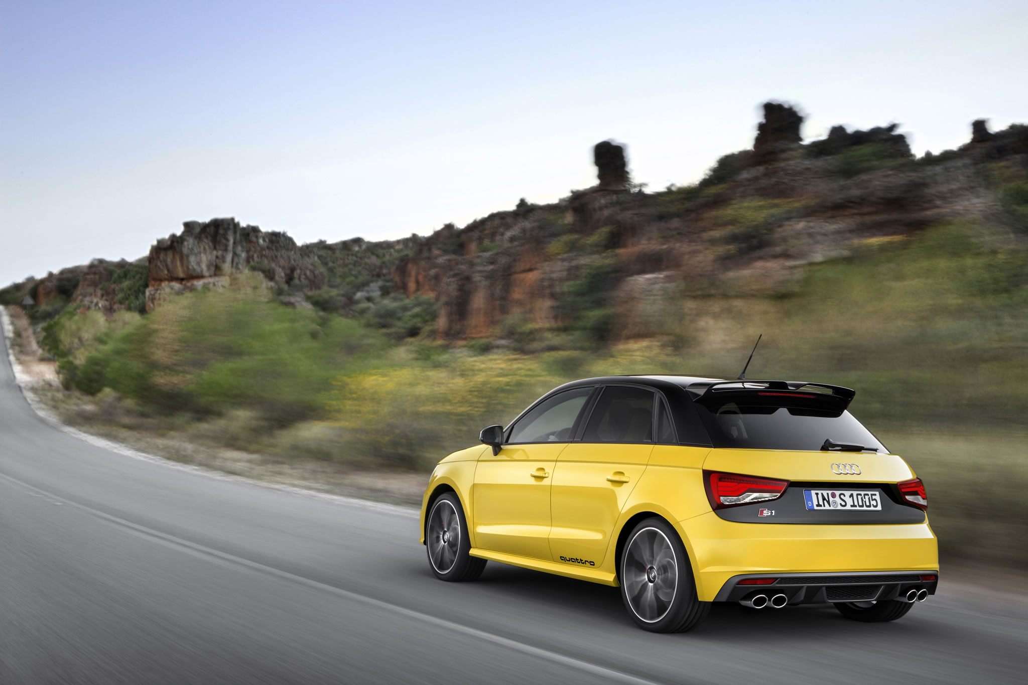 2015 audi s1 sportback rear photo vegas yellow color size 2048 x 1365 nr 12 18. Black Bedroom Furniture Sets. Home Design Ideas