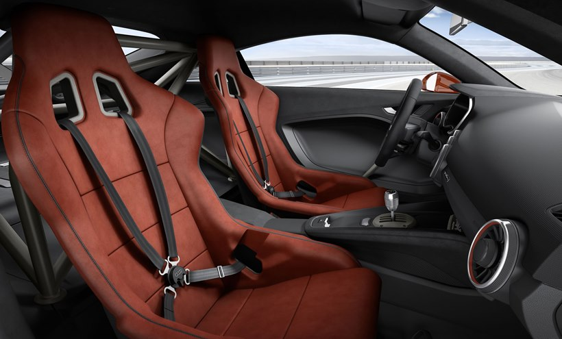 2015 Audi TT Clubsport Turbo Concept  interior photo, bucket seats