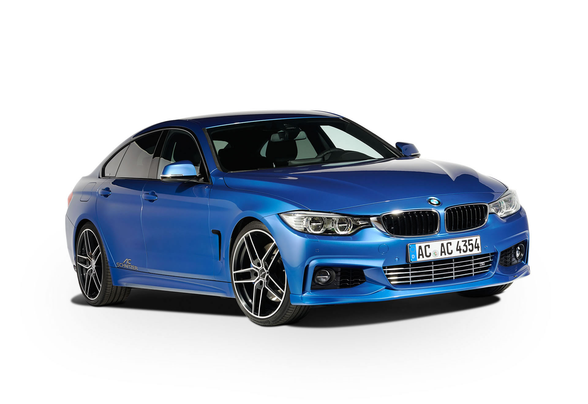 2015 BMW 435i Gran Coupe by AC Schnitzer - front photo, blue color ...