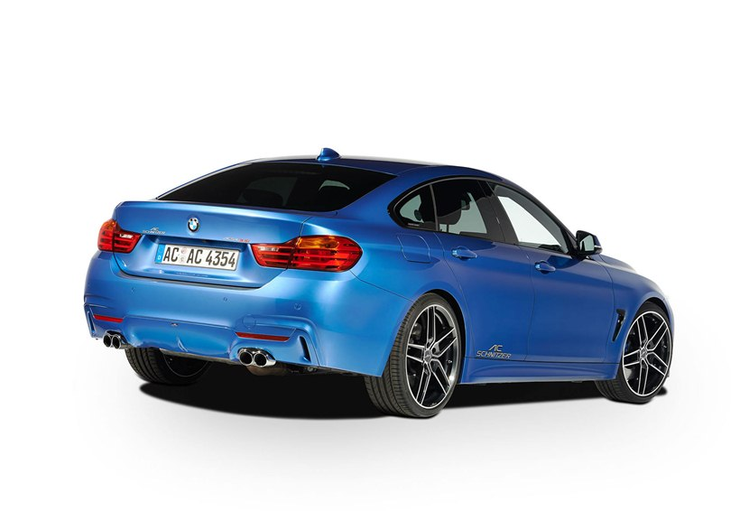 2015 bmw 435i gran coupe by ac schnitzer rear photo for Bmw 4er gran coupe m paket