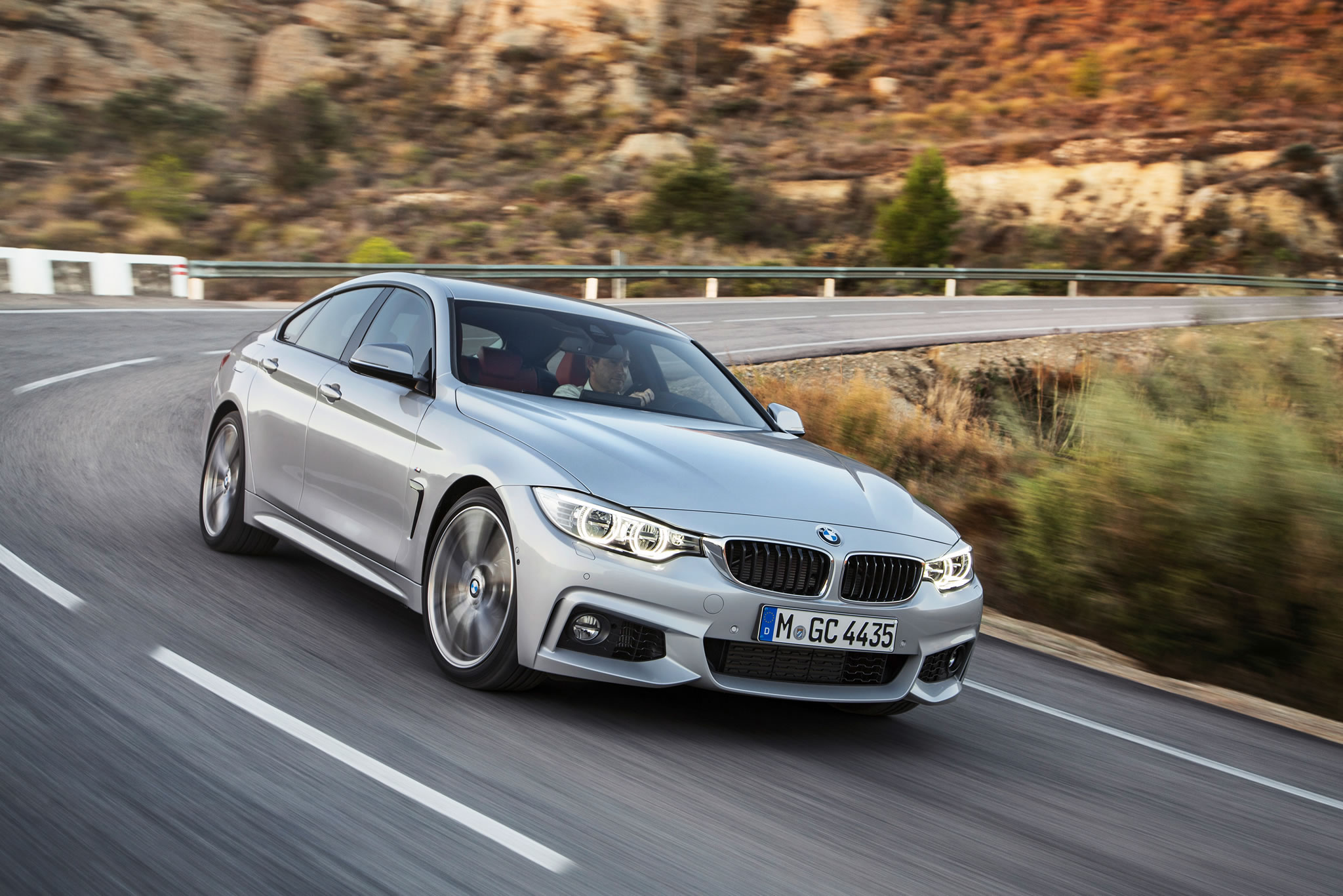 2015 Bmw 435i Gran Coupe M Sport Front Photo Glacier