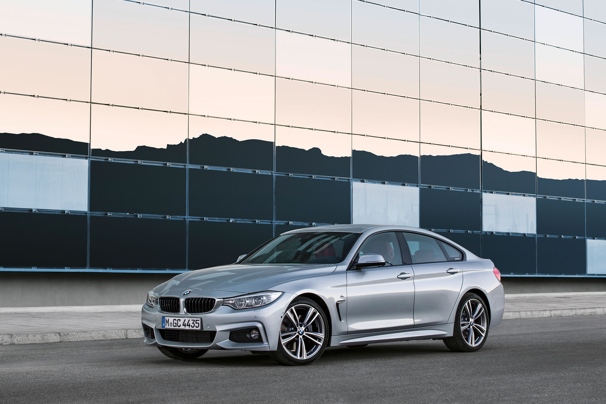 Bmw 435i Gran Coupe >> 2015 BMW 435i Gran Coupe M Sport - front photo, Glacier Silver color, size 2048 x 1366, nr. 17 ...