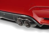 detail, exhaust tail pipes