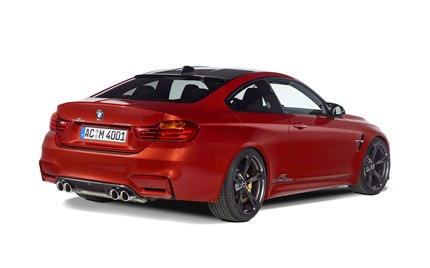 AC Schnitzer carbon front spoiler elements, carbon rear diffuser, carbon mirror 