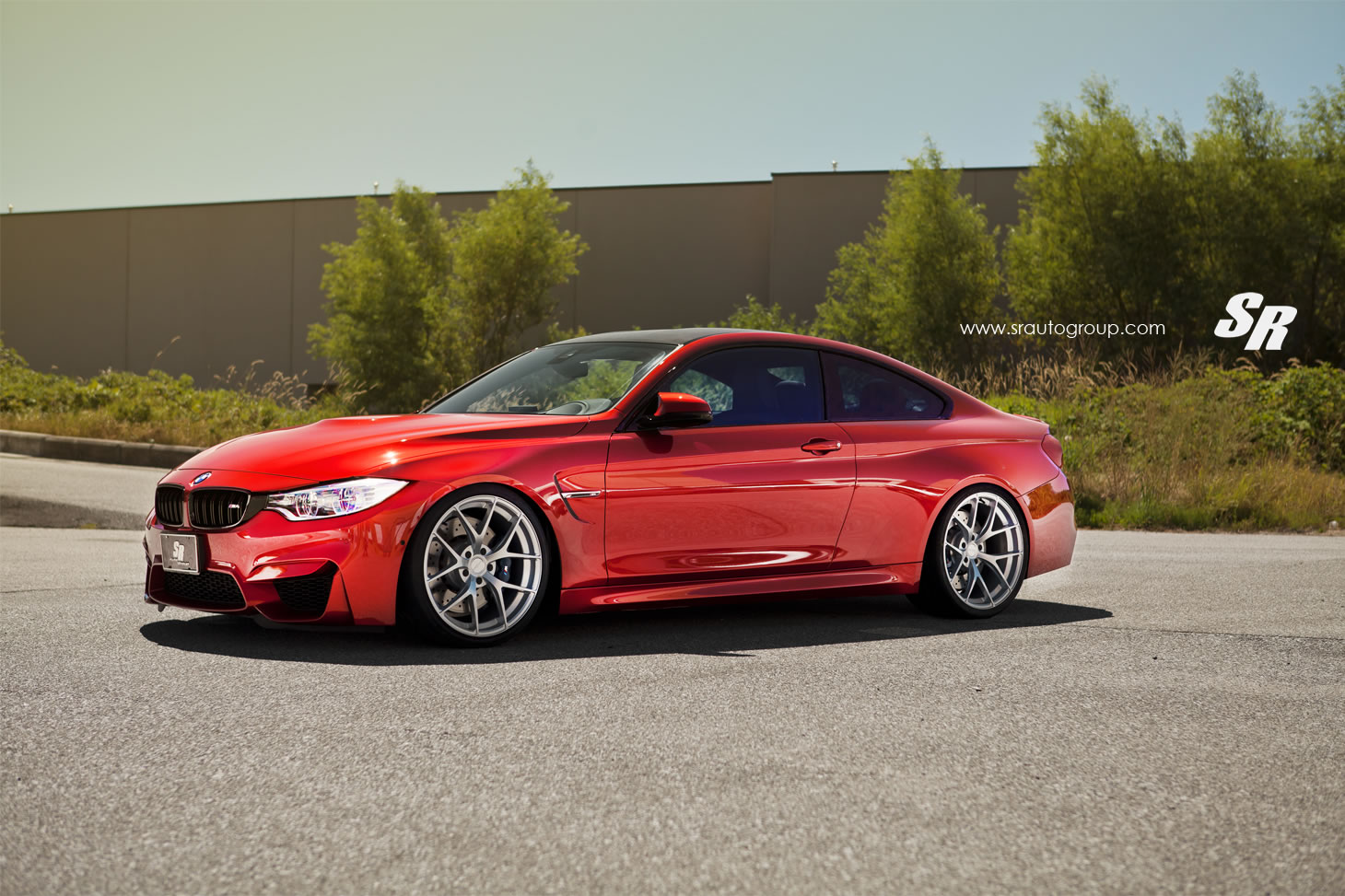 2015 Bmw M4 Coupe By Pur Front Photo Sakhir Orange