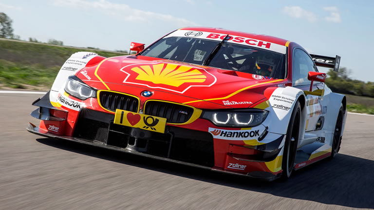 2015 BMW M4 DTM Shell Race Car