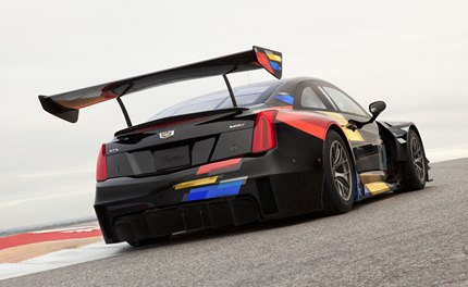 The heart of the ATS-V.R is the LF4.R, the racing version of the Twin Turbo 3.6L 