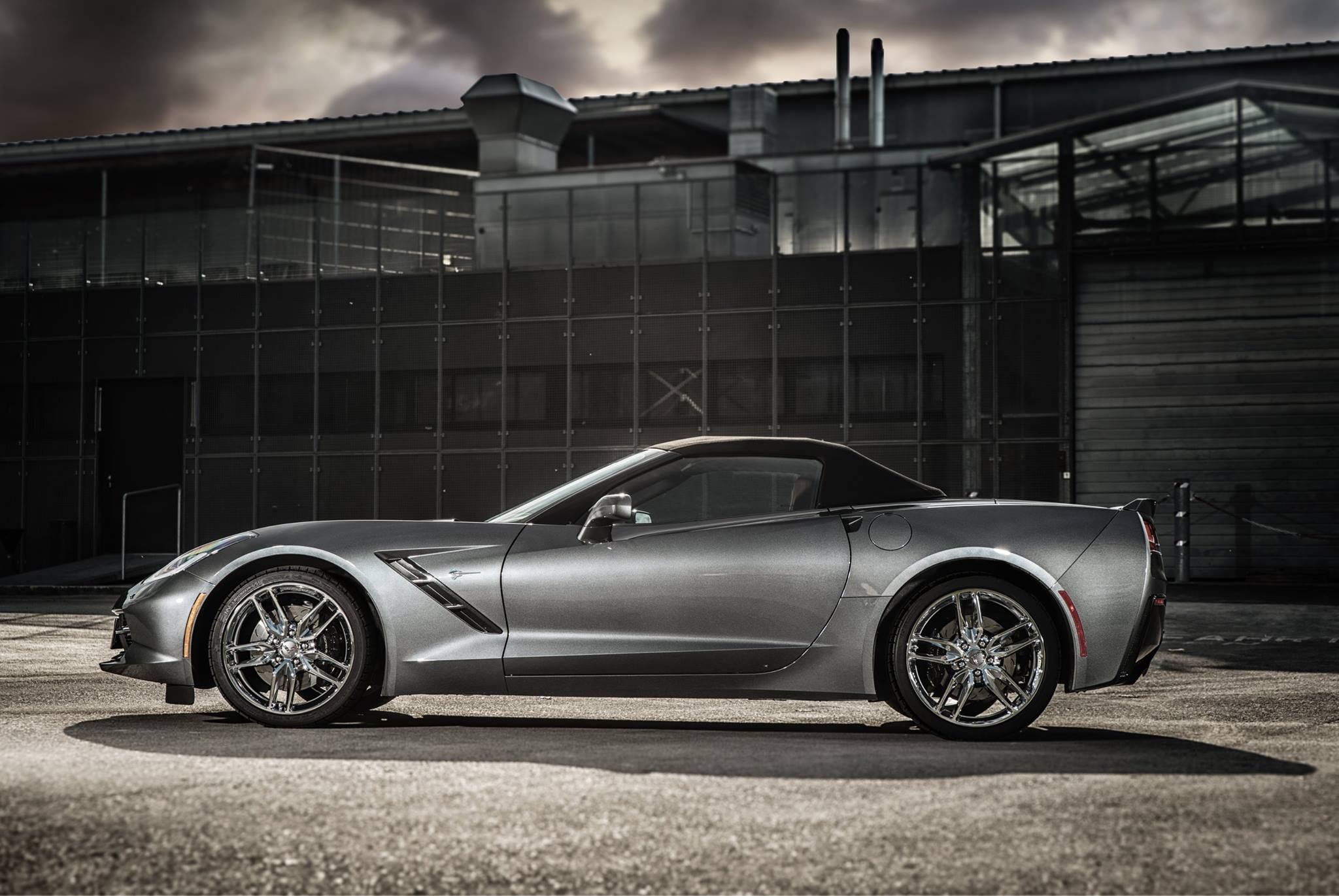 Vette Octuning Side on 2015 Chevrolet Corvette