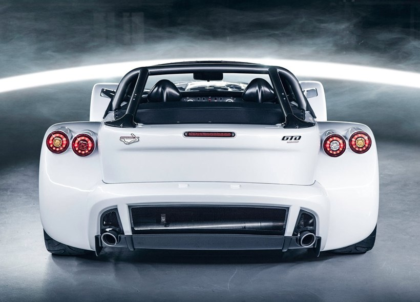 2015 Donkervoort D8 Gto Bilster Berg Edition Rear Photo White