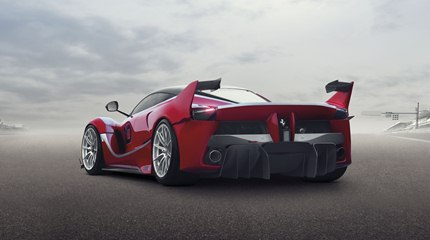 Unfettered by homologation and racing regulations, the FXX K was developed to guarantee an unprecedented driving experience.