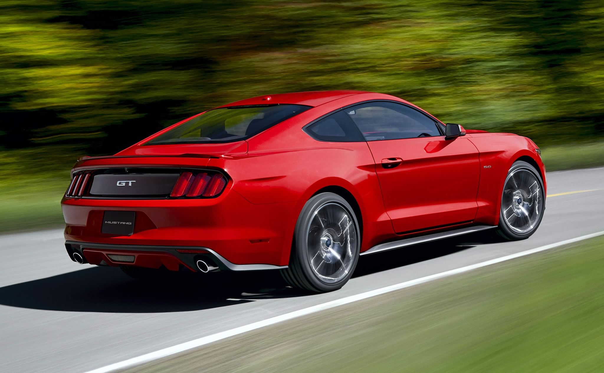 2015 ford mustang gt rear photo race red color size 2048 x 1266 nr 30 45. Black Bedroom Furniture Sets. Home Design Ideas