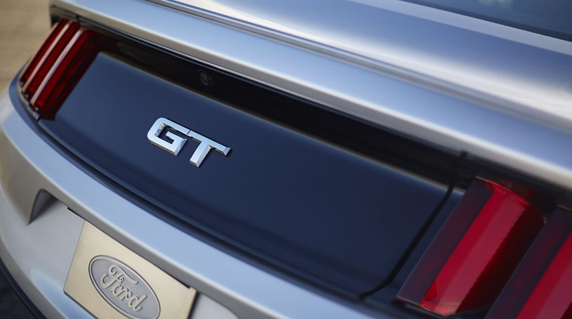 detail, GT badge