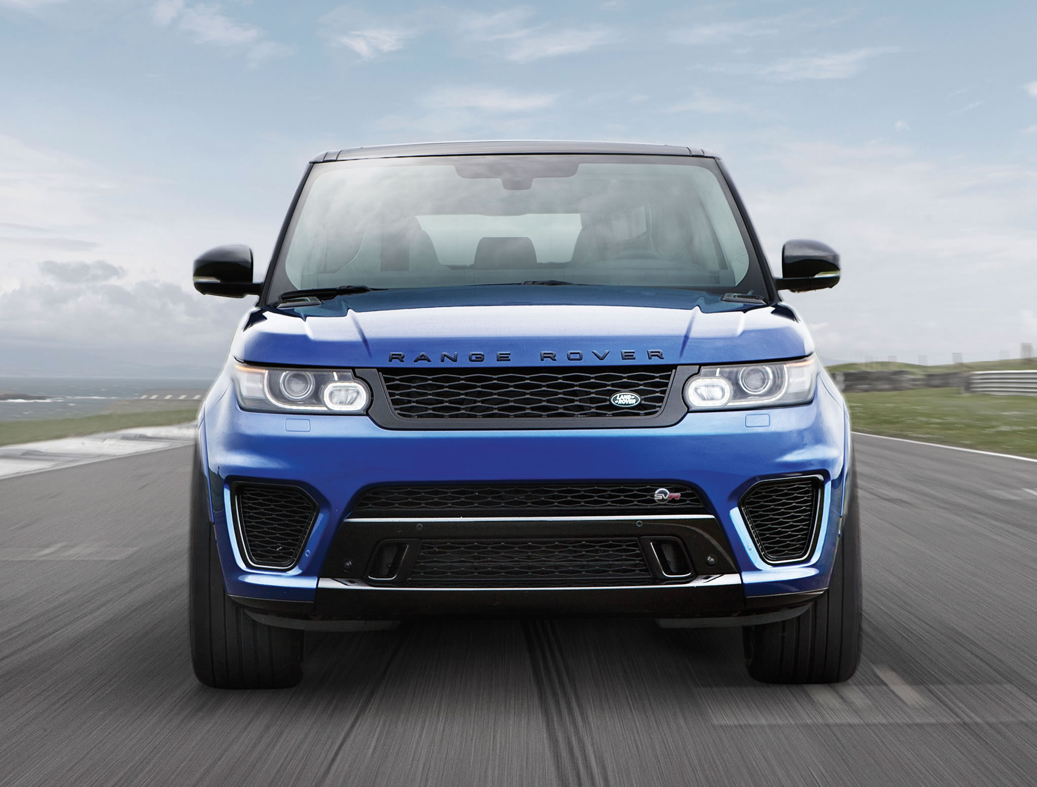 2015 Land Rover Range Rover Sport Svr Front Photo