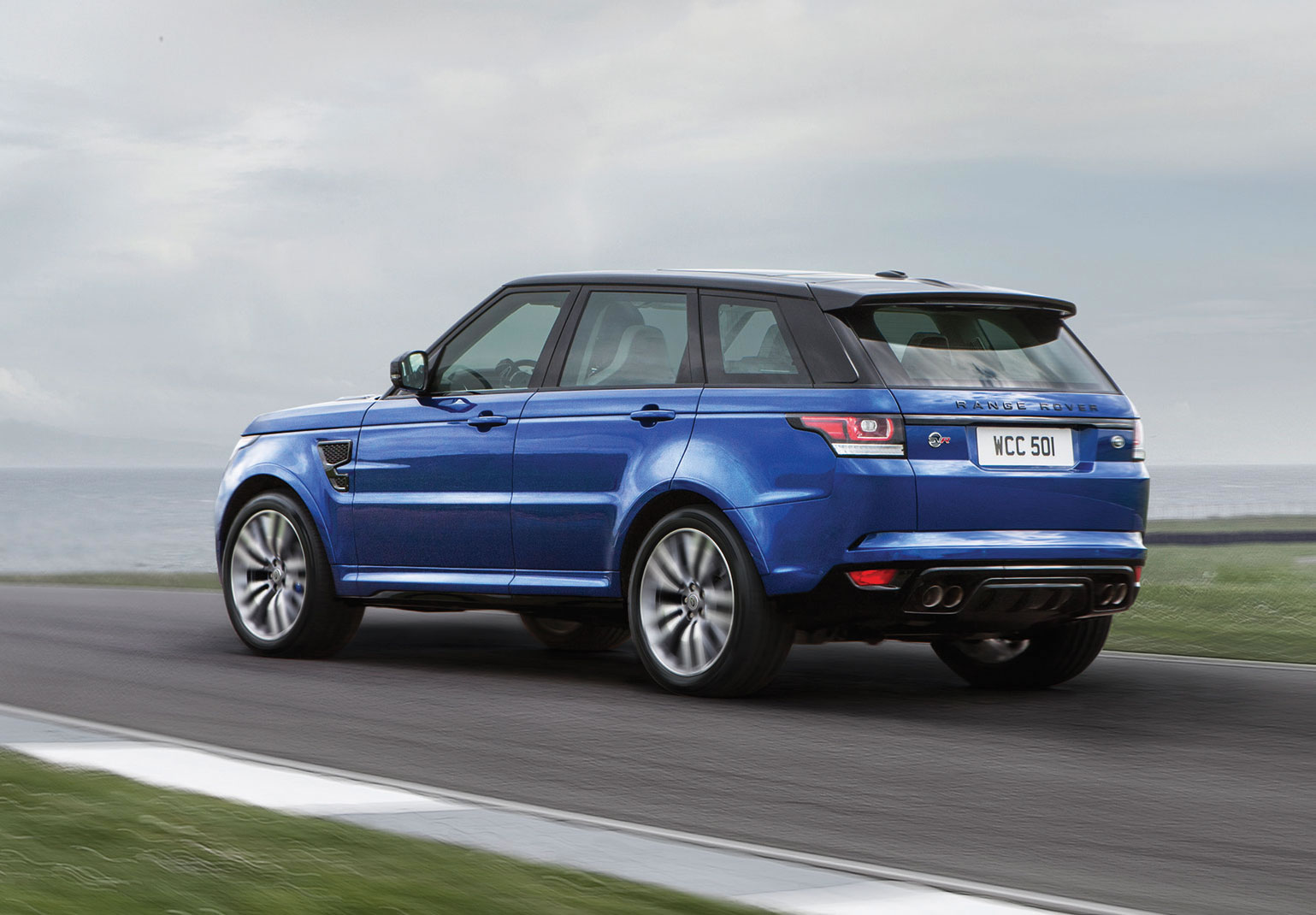 2015 land rover range rover sport svr rear photo. Black Bedroom Furniture Sets. Home Design Ideas