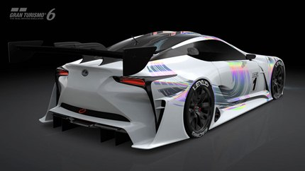 "The Lexus LF-LC GT Vision Gran Turismo was developed to answer fans who ""want to 