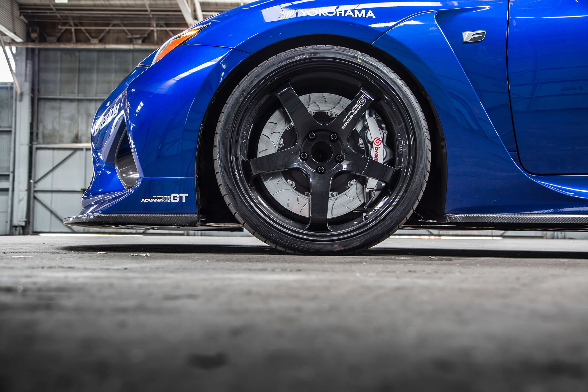 2015 Lexus Rc F By Gordon Ting Detail Photo Advan Wheel