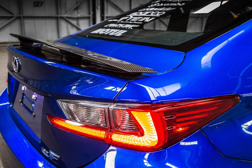 Lexus F Sport >> 2015 Lexus RC F by Gordon Ting - detail photo, rear spoiler, size 2048 x 1365, nr. 15/26 ...