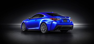 The 2015 Lexus RC F coupe is the most powerful V8 performance car ever developed 