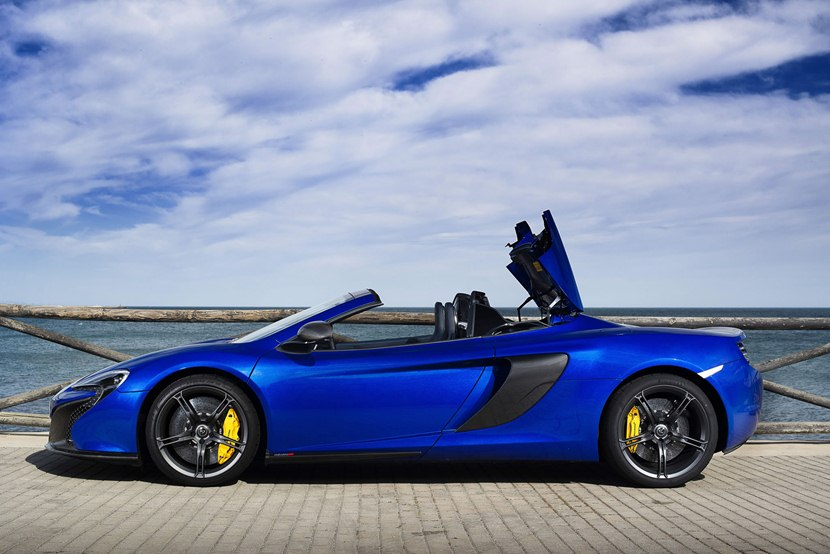 2015 Mclaren 650s Spider Side Photo Roof Opening Size