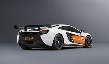 The first example of the 650S Sprint is shown with a new striking livery, in an 