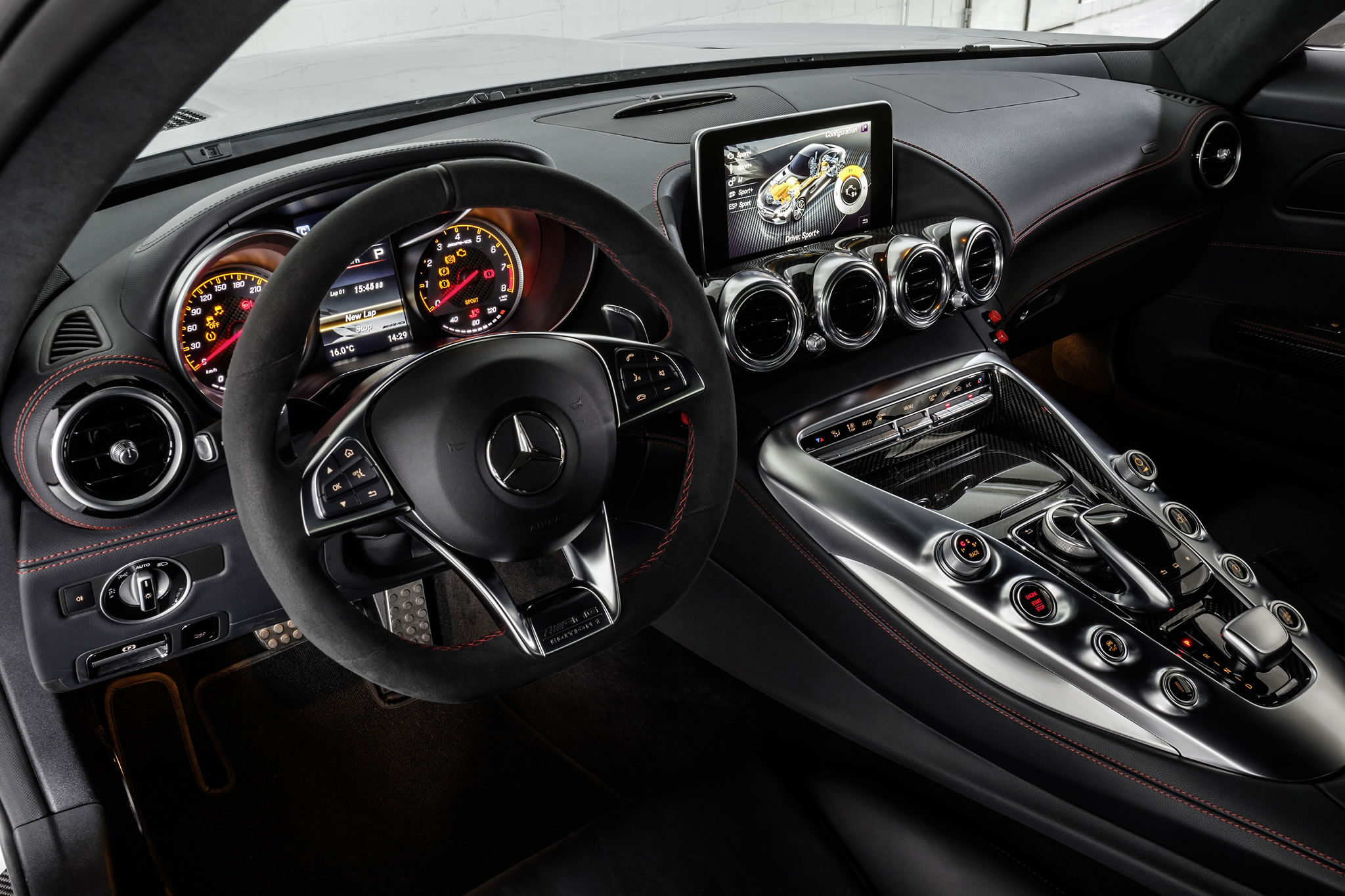 2015 Mercedes Benz Amg Gt S Dtm Safety Car Interior